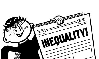 Inequality newspaper