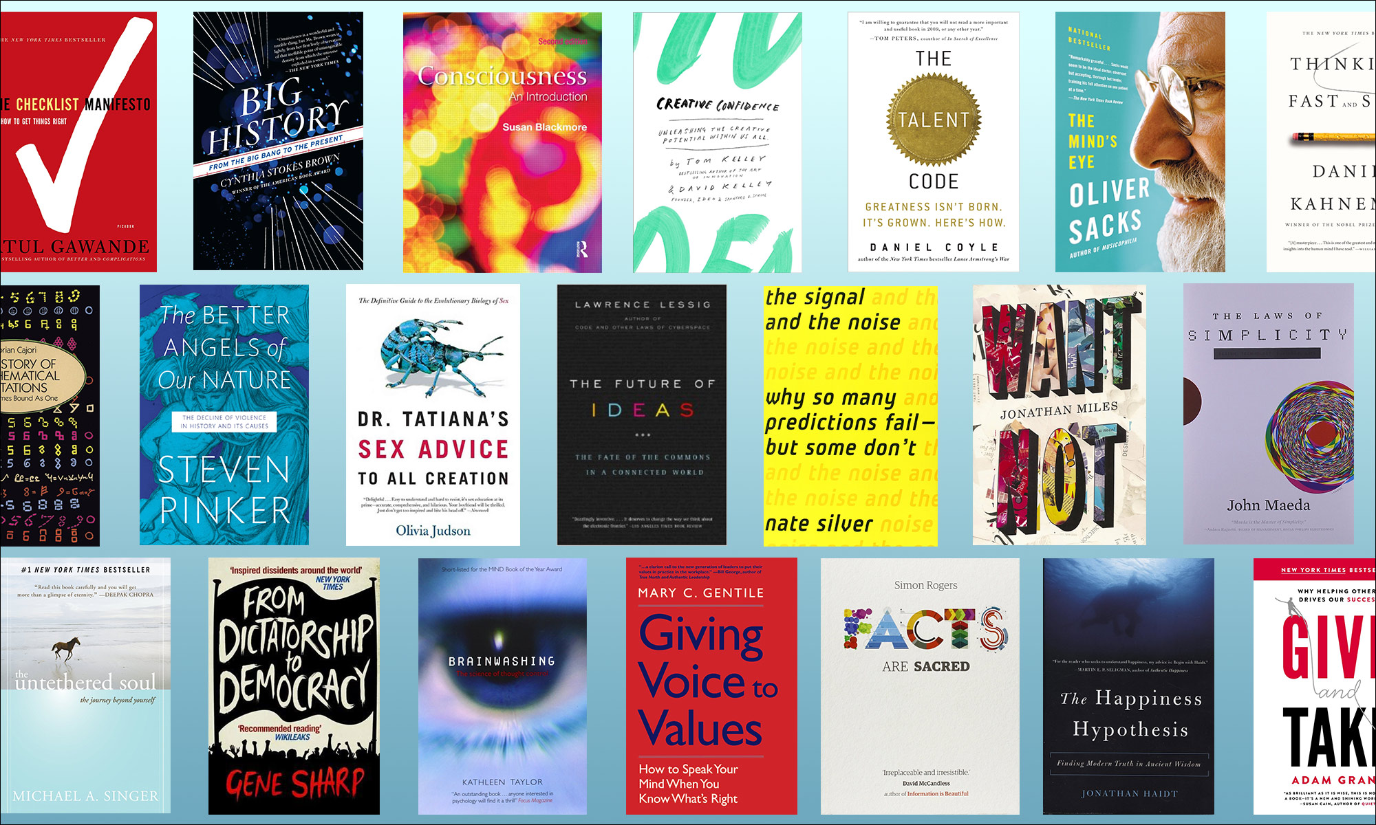 Books worth reading, as recommended by Bill Gates, Susan Cain and more…