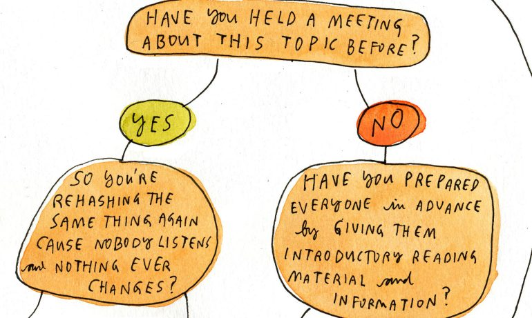 Should you call that meeting?