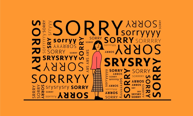 When a man apologizes for hurting you